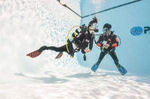 PADI Dive master Corralejo Fuerteventura Abyss Fuerteventura