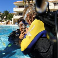 kids diving bubblemaker PADI courses corralejo