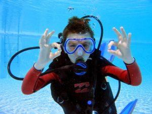 kids diving corralejo  PADI bubblemaker abyss fuerteventura